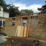 Shepperton Brick up to roofline